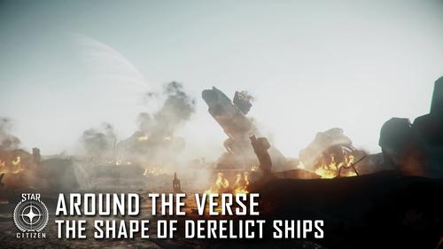 Вокруг Вселенной: разрушенные корабли