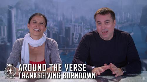 Вокруг Вселенной: Burndown в День Благодарения