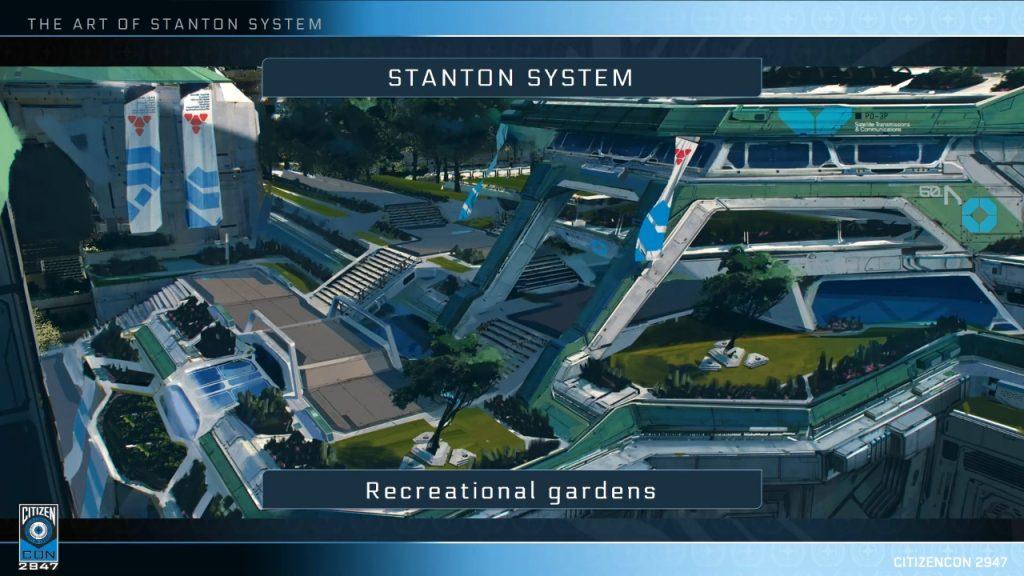 CitizenCon 2947: Технологии и художественные работы Stanton