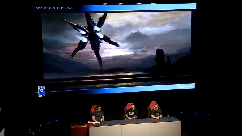 CitizenCon 2947: раса Xi'an