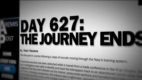 Почта Аремиса: день 627: путешествие завершается