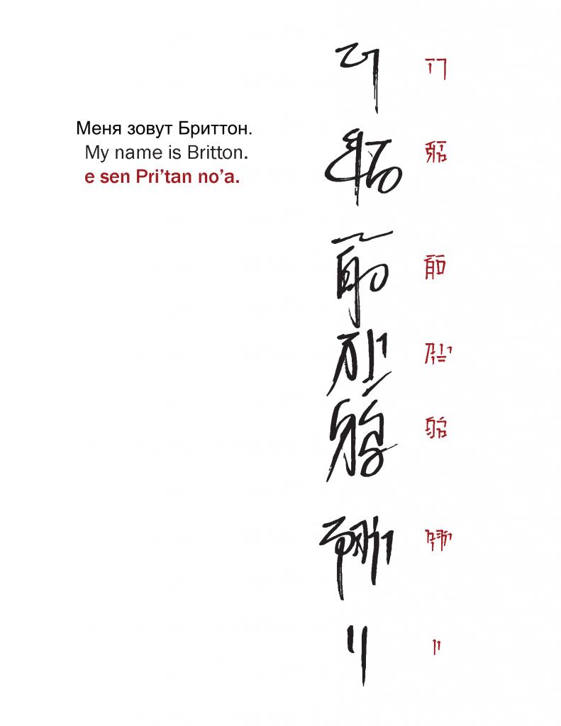 Адаптация человеческих имен к шианскому языку