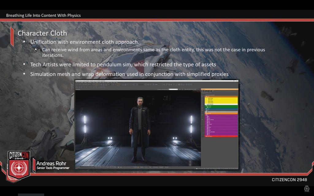 CitizenCon 2948: Вдыхаем жизнь в контент при помощи физики