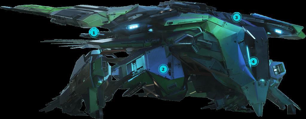 Лёгкий теваринский истребитель Talon от Esperia